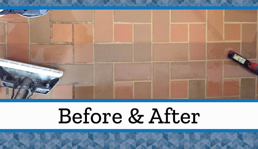 Commercial Tile & Grout Cleaning – Before & After - Hoffman\'s Cleaning
